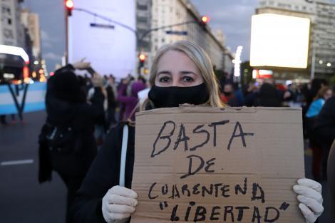 El objetivo político de los anticuarentena | Consig... | Página12
