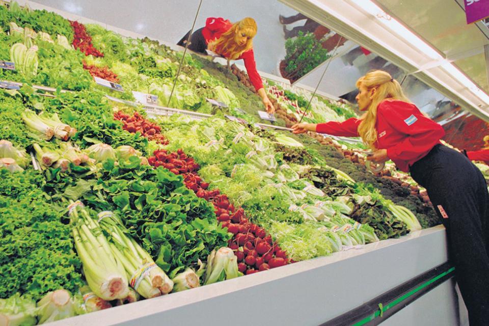 dieta verduras e frutas