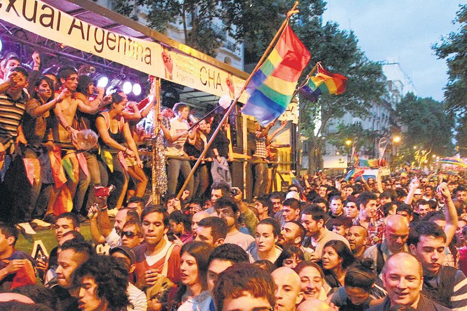 Marcha Sin Escenario Pero Con Orgullo El Gobierno Pagina12