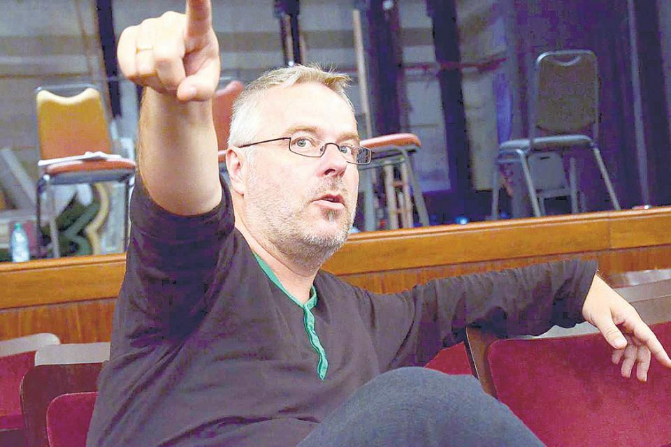 El director polaco Michal Znaniecki, creador del festival.