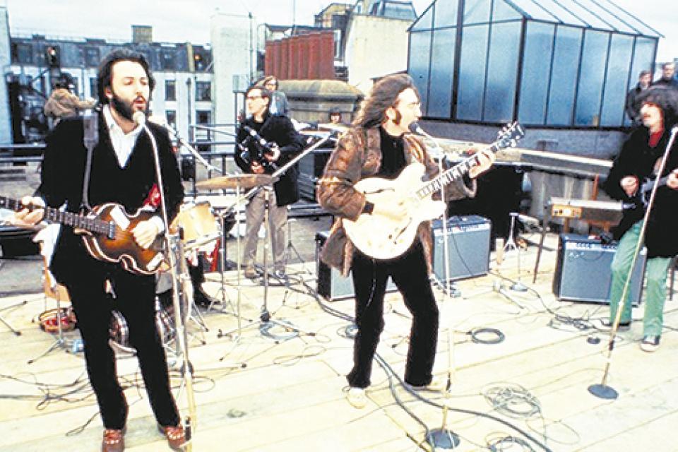 Resultado de imagen para the beatles en la terraza