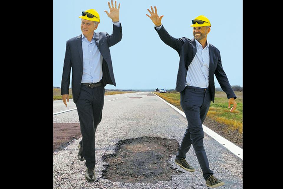 Mauricio Macri y Guillermo Dietrich.