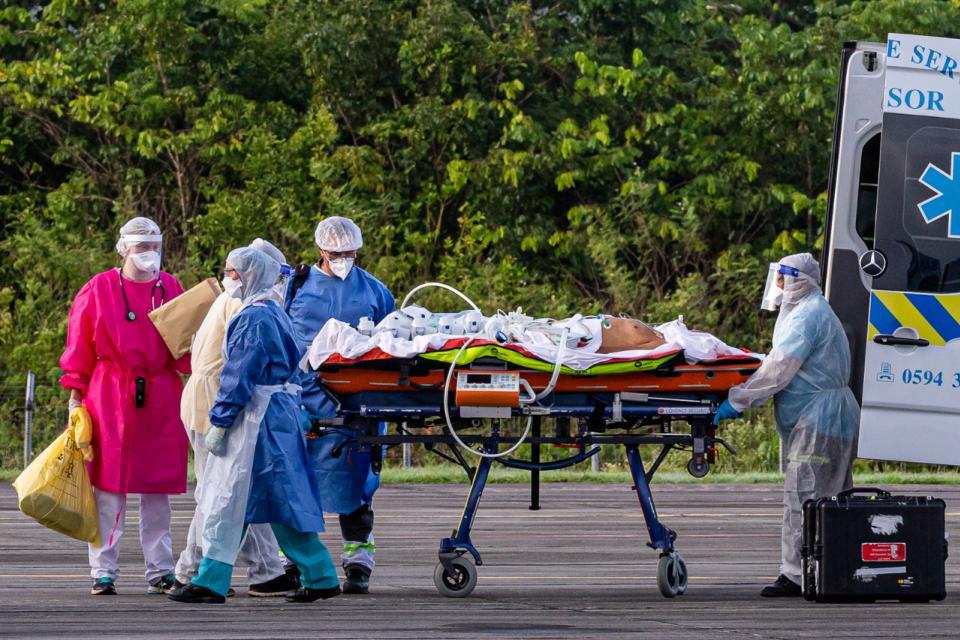 Francia suma 199.474 casos positivos y 29.781 muertes.