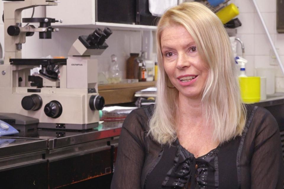 Alejandra Capozzo, doctora en Ciencias Biológicas e investigadora principal del Conicet.