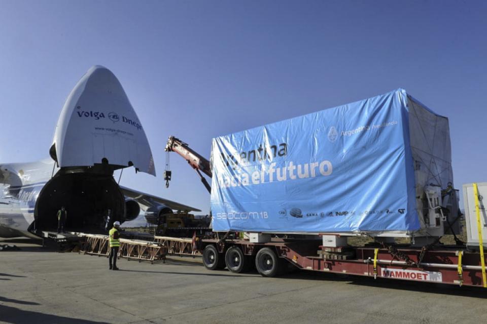 El nuevo satélite argentino, listo para ser lanzado
