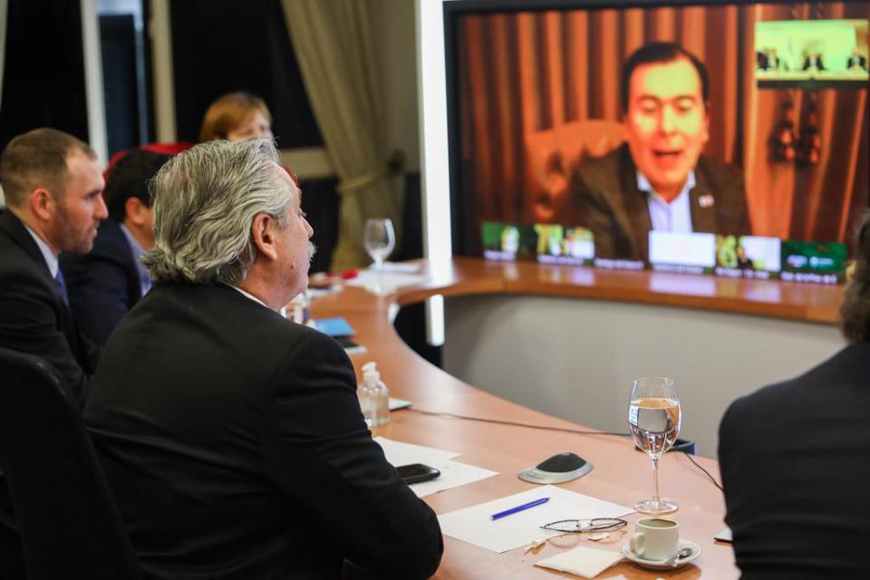 El Presidente confirmó la tercera cuota del IFE