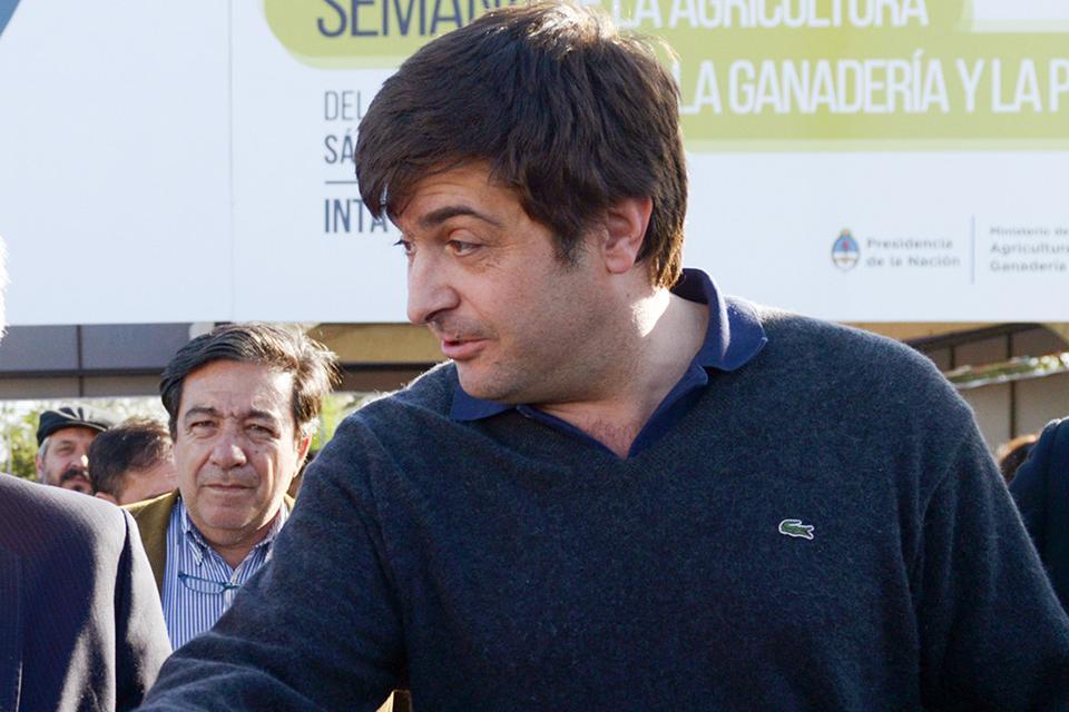 El interventor nacional que ya no es, Gabriel Delgado.