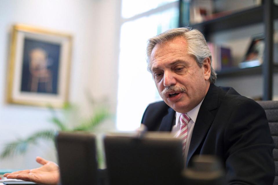 Alberto Fernández celebrará la Independencia por videoconferencia