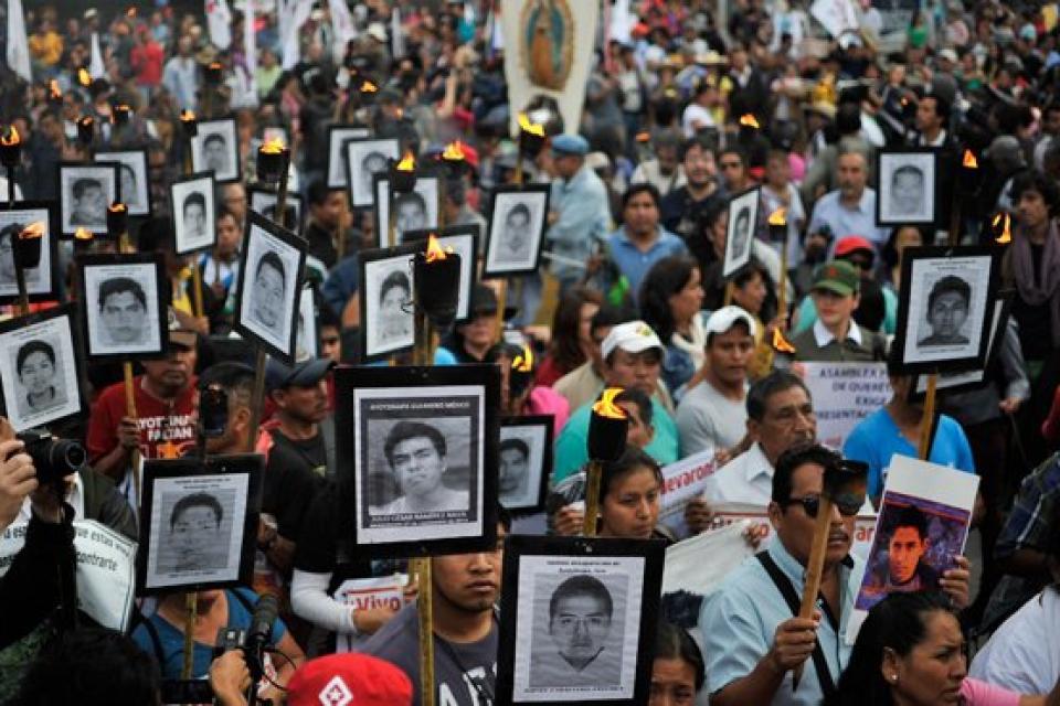 Identificaron los restos de uno de los 43 estudiantes de Ayotzinapa
