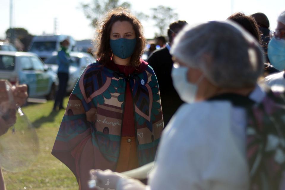 """Leticia Ceriani: """"En la provincia, la curva de contagios sigue en ascenso"""""""