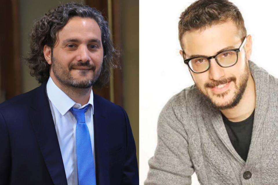 Santiago Cafiero desmontó la fake news de Diego Leuco
