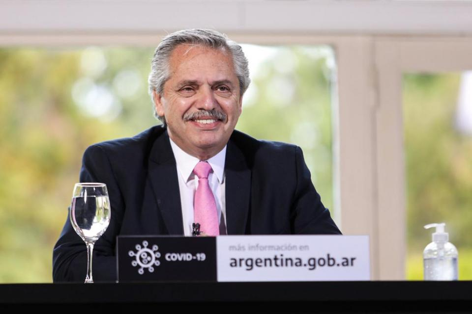 """Alberto Fernández: """"Llegó la hora de poner al capitalismo en su verdadera dimensión"""""""