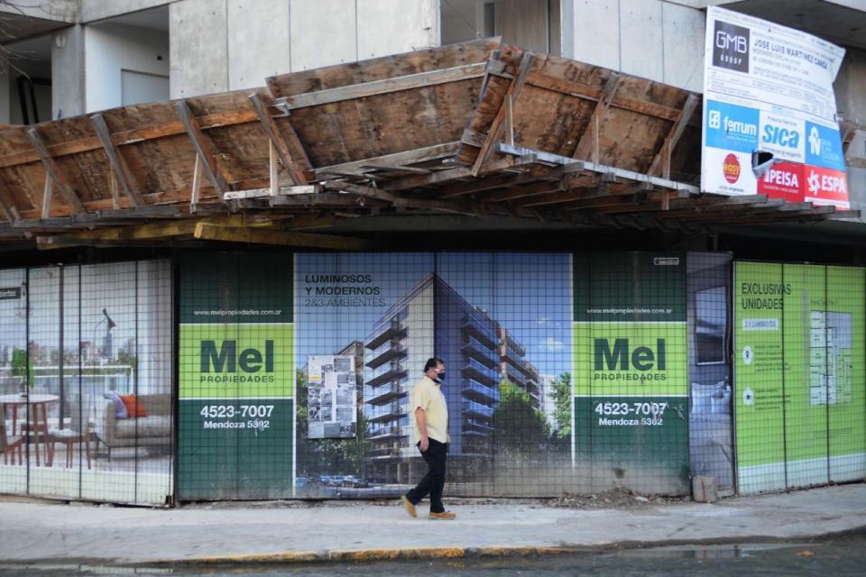 Lento regreso de la construcción