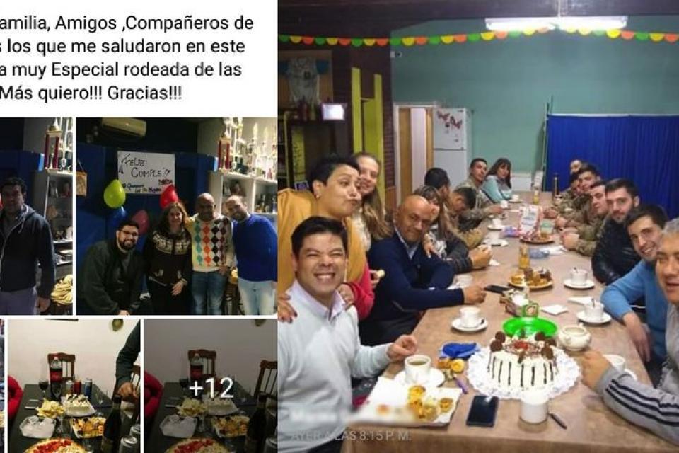 Escándalo en Mendoza por un cumpleaños multitudinario entre funcionarios municipales