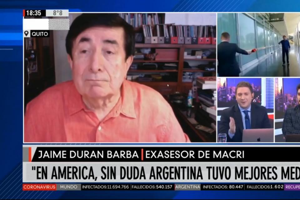 Jaime Durán Barba dejó mudo a Jonatan Viale con sus elogios a Alberto Fernández