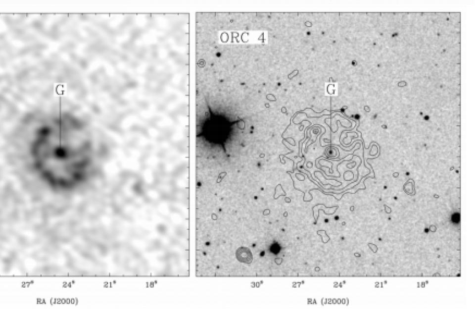 Descubren en el espacio profundo cuatro misteriosos objetos circulares