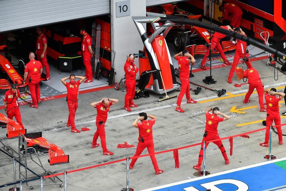 Vuelve la Fórmula 1 pero sin champagne