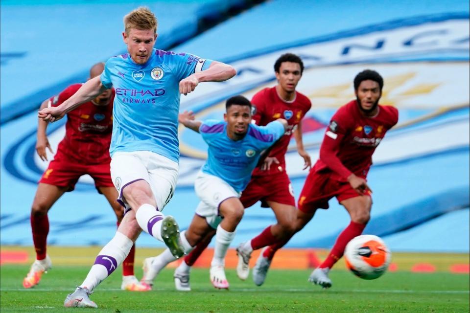 Premier League: Manchester City goleó al campeón Liverpool