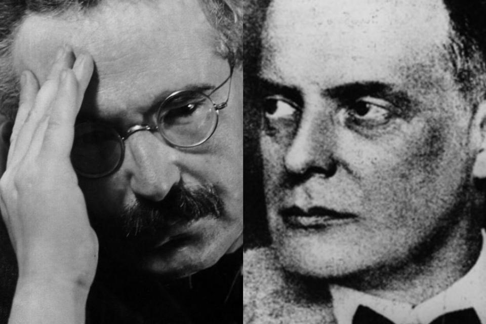 Walter Benjamin y Paul Klee