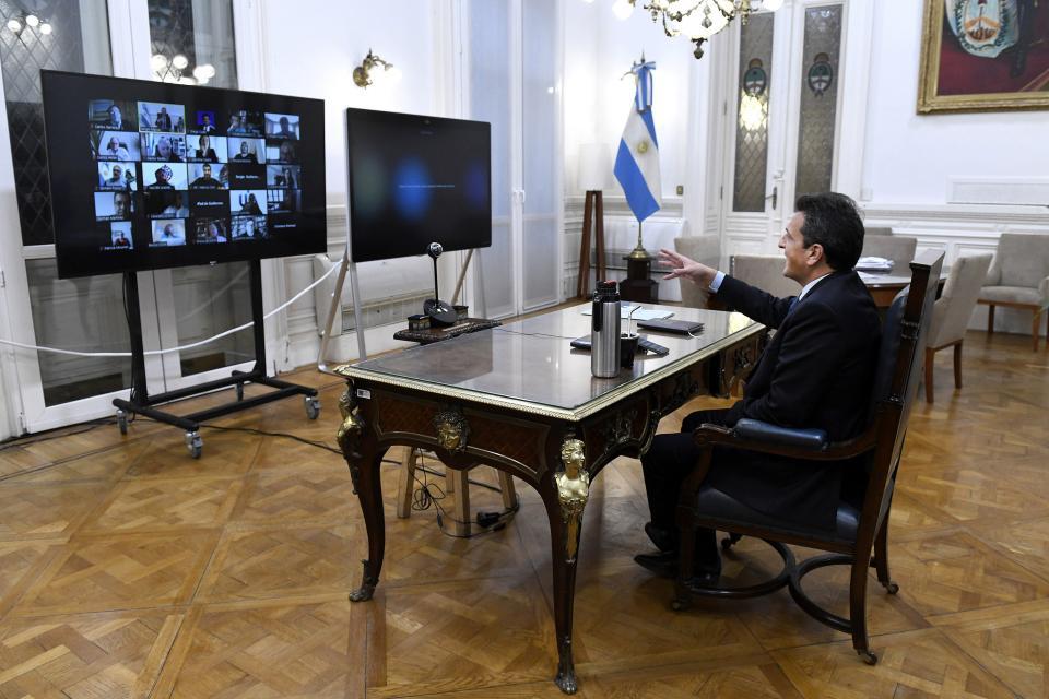 Principio de acuerdo para continuar con las sesiones virtuales mixtas en Diputados