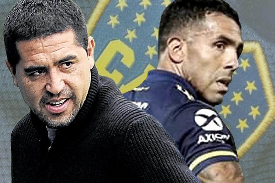 Riquelme lo llamó y Tevez seguirá en Boca