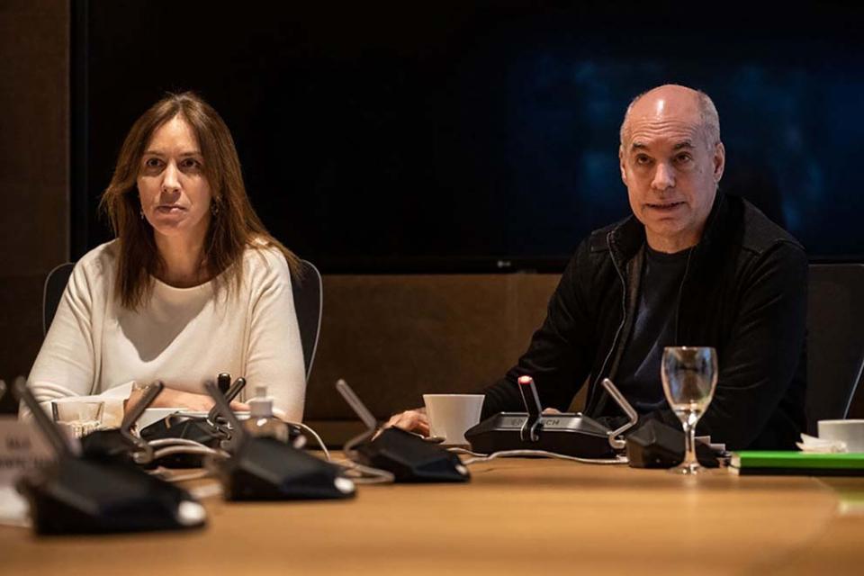 Vidal, Larreta, Ritondo y Jorge Macri, acordaron crear una mesa ejecutiva en el PRO