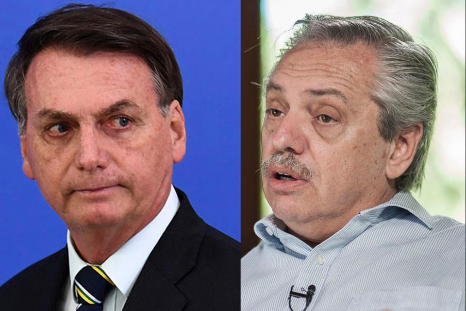Alberto Fernández y Jair Bolsonaro se ven las caras en la cumbre del Mercosur