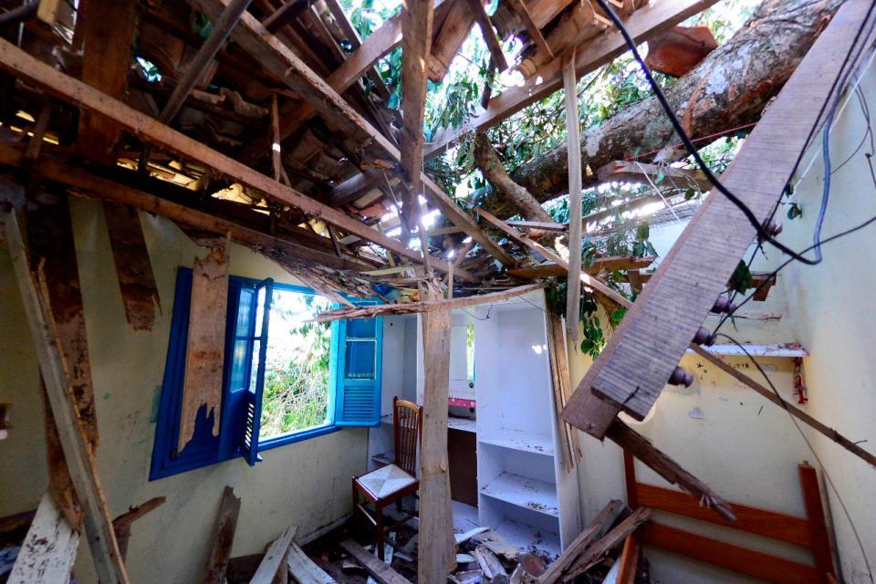 Bomba ciclónica en Brasil: 10 muertos y múltiples destrozos