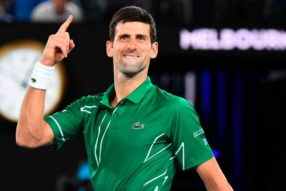 Coronavirus: Djokovic y su esposa dieron negativo