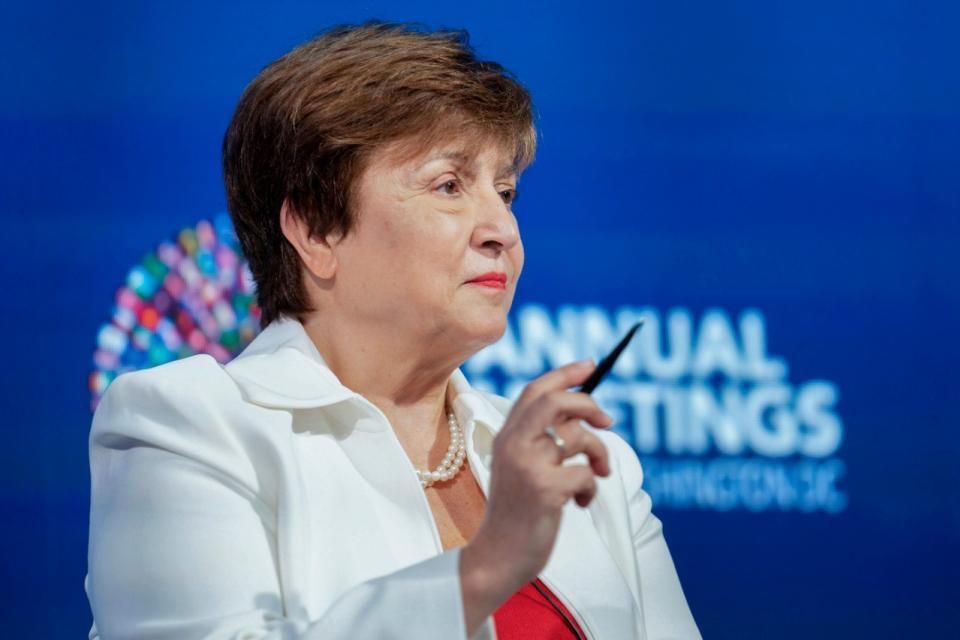 """Kristalina Georgieva pidió colaboración a los acreedores de la deuda externa: """"Es un momento de acción"""""""