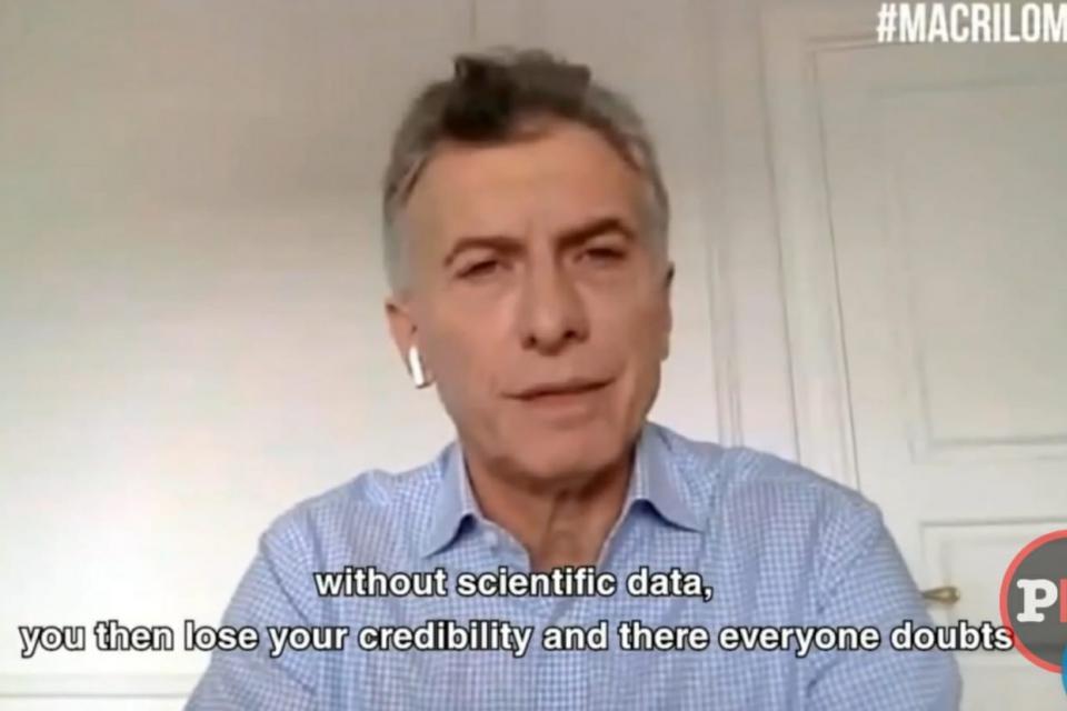El genial aporte de Mauricio Macri al estudio del coronavirus