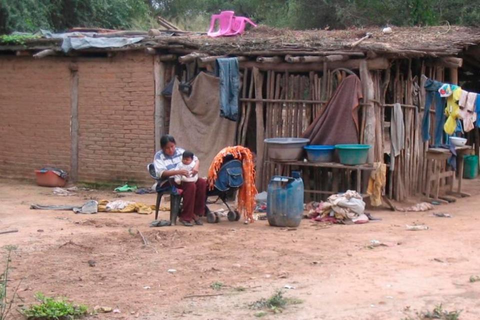La Covid-19 y la cuarentena agravaron todos los aspectos de vida de los pueblos originarios de Argentina. Imagen: Télam
