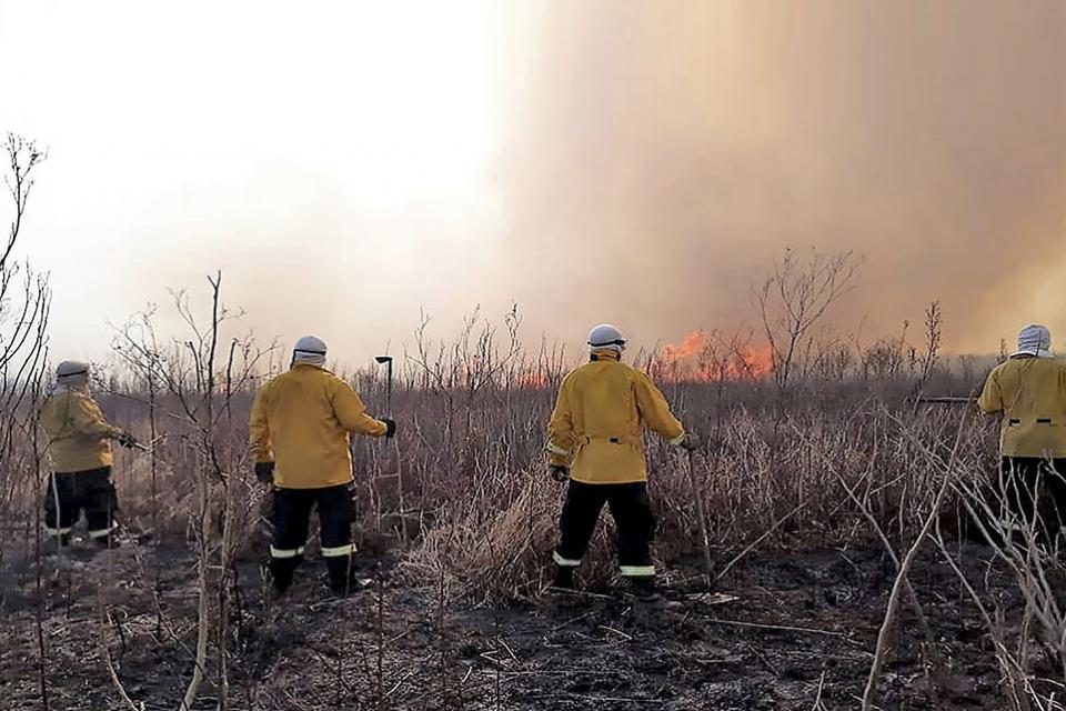 """En diálogo con PáginaI12, Juan Cabandié aseguró que los responsables de los incendios son """"los productores agropecuarios de la zona que están quemando los pastizales para mejorar el forraje"""""""