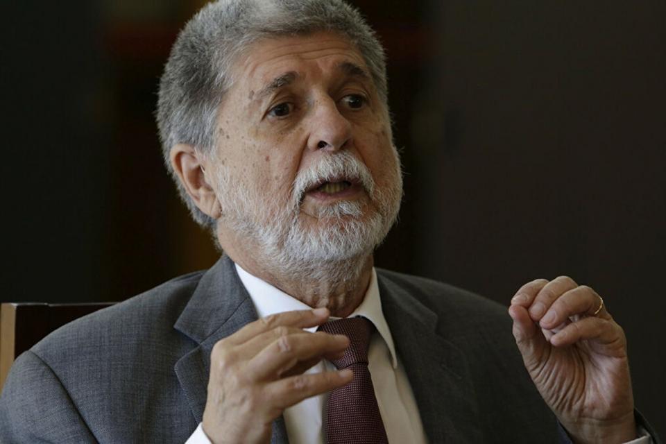 El excanciller brasileño, Celso Amorim.
