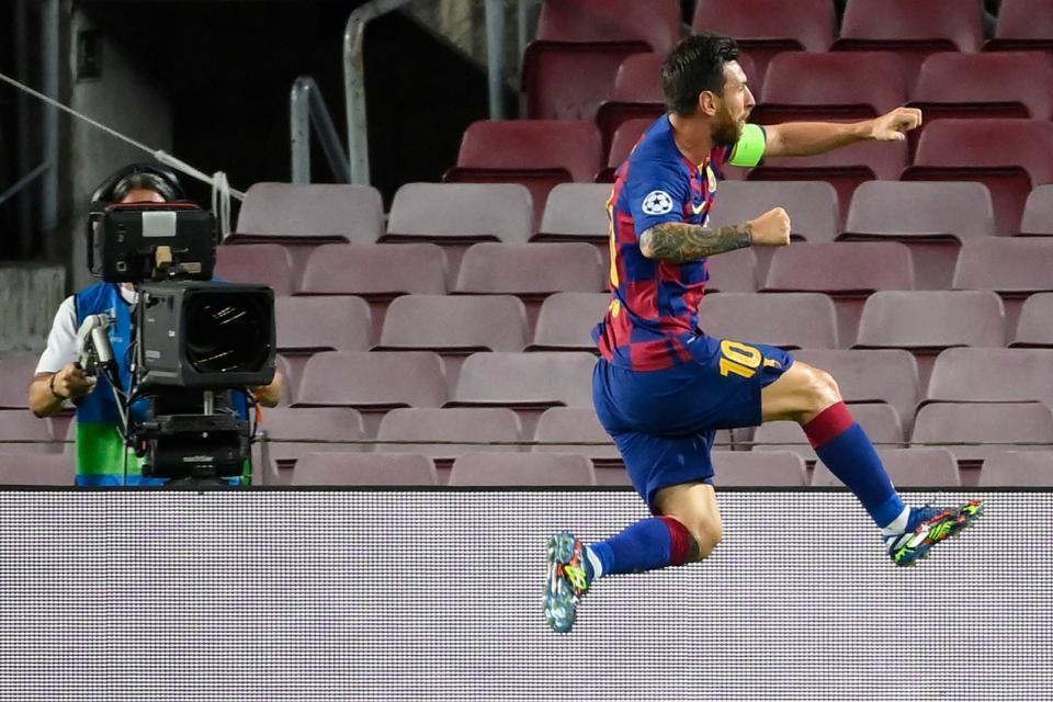 Barcelona eliminó a Napoli en la Champions
