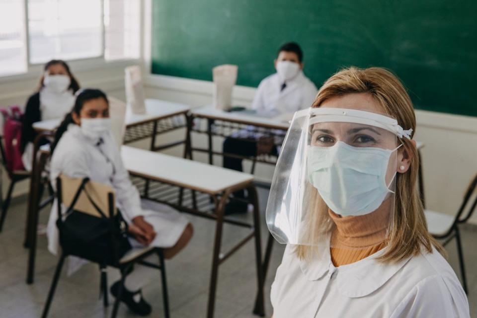 En San Juan, catorce distritos comienzan las clases el lunes con la implementación de protocolos sanitarios para evitar contagios de coronavirus.