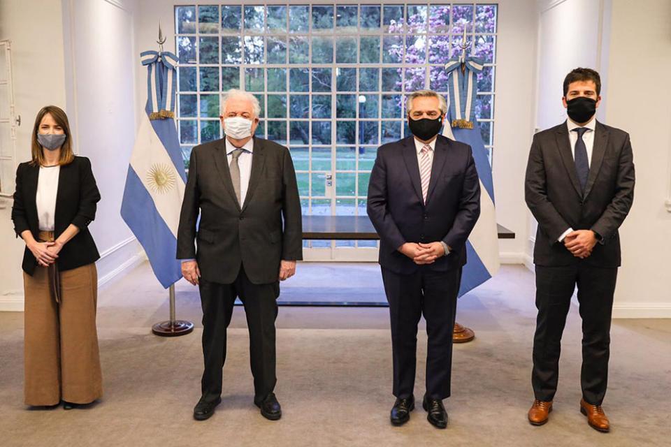 Alberto Fernández anunció que Argentina producirá la vacuna de Oxford