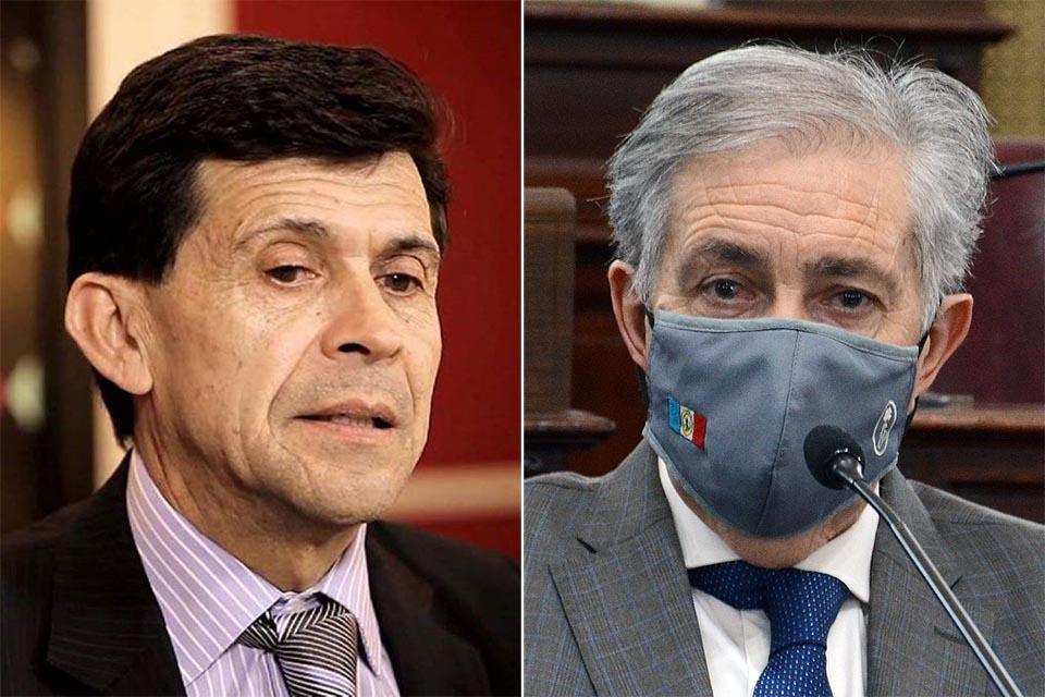 1) Néstor Oroño defiende a ex funcionario detenido. 2) Asesora al senador Gramajo.