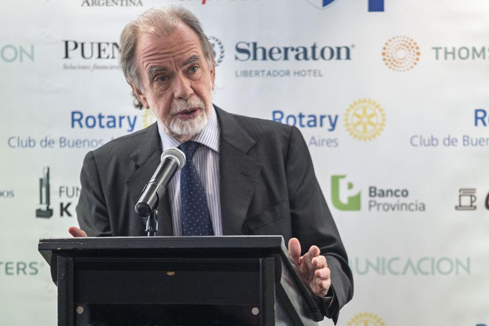 Javier González Fraga presidió el Banco Nación durante la presidencia de Mauricio Macri.