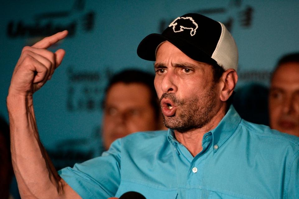 Capriles apuesta a las elecciones legislativas de diciembre.