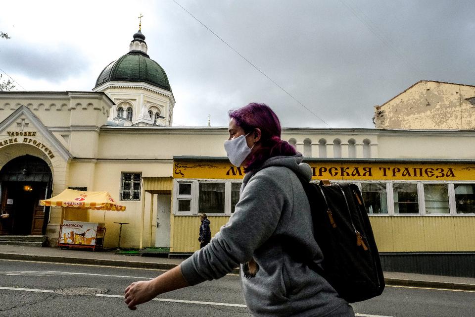 Rusia es uno de los países más afectados por la pandemia.
