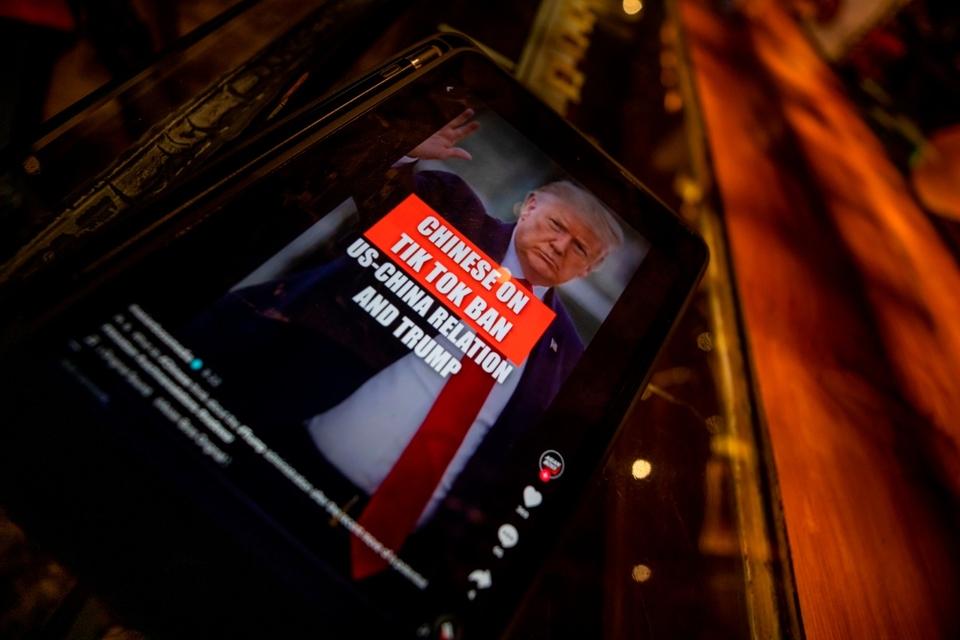Trump intentó forzar la venta de TikTok a una empresa estadounidense.