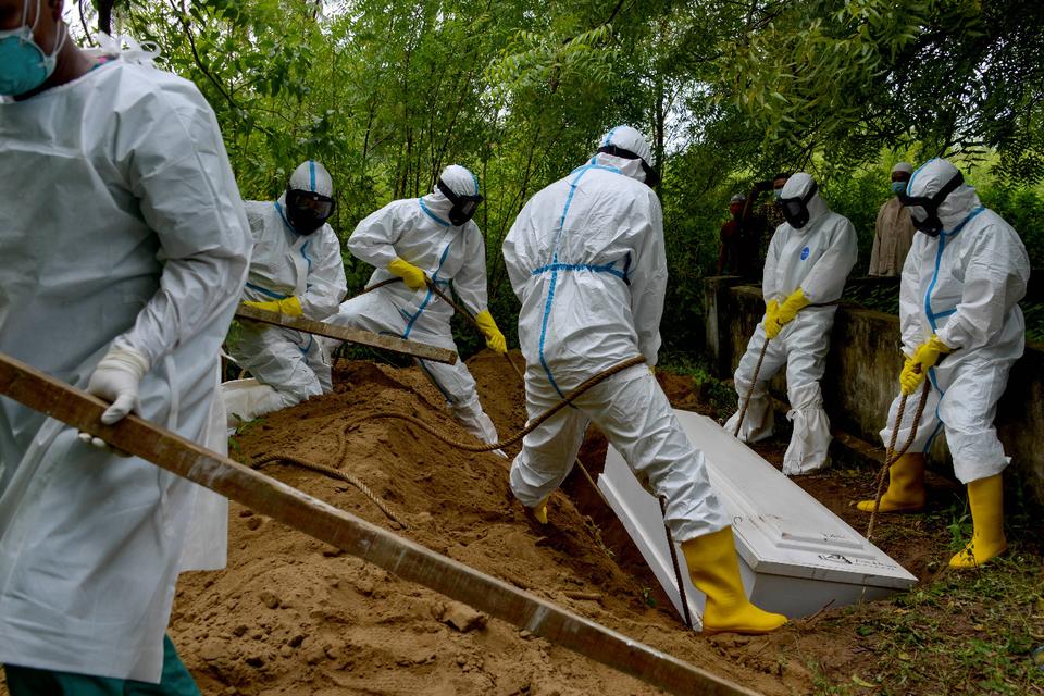 América Latina registra338.000 fallecimientos y 9,22 millones de contagios.