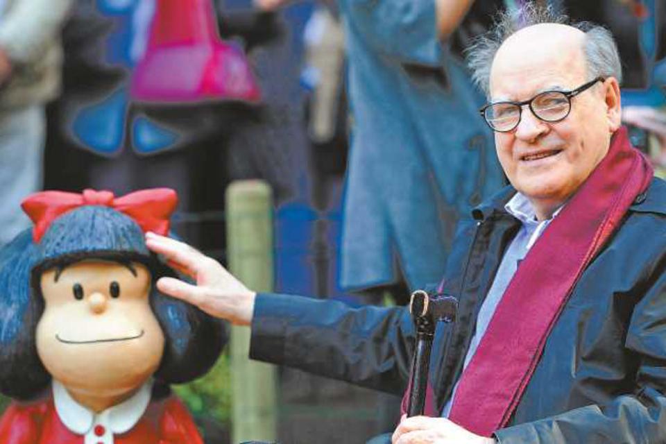 La palabra de Quino sobre Mafalda.