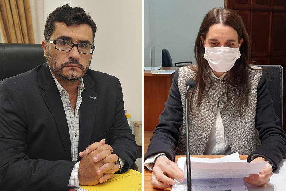 """Rodríguez la imputó de """"hacer desaparecer pruebas"""". Ferraro dijo que no es su competencia."""