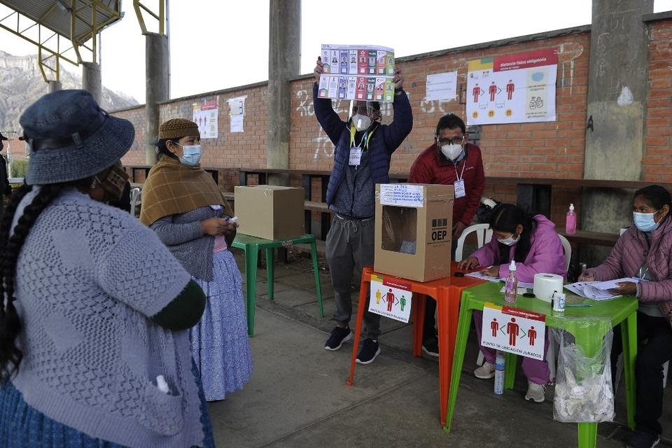 Los resultados de las elecciones de Bolivia no se conocerán este domingo a la noche.