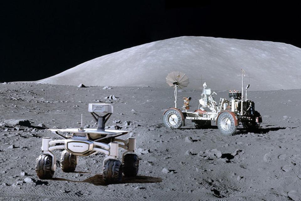 La NASA armará una red en la Luna para que se pueda hablar por teléfono celular.
