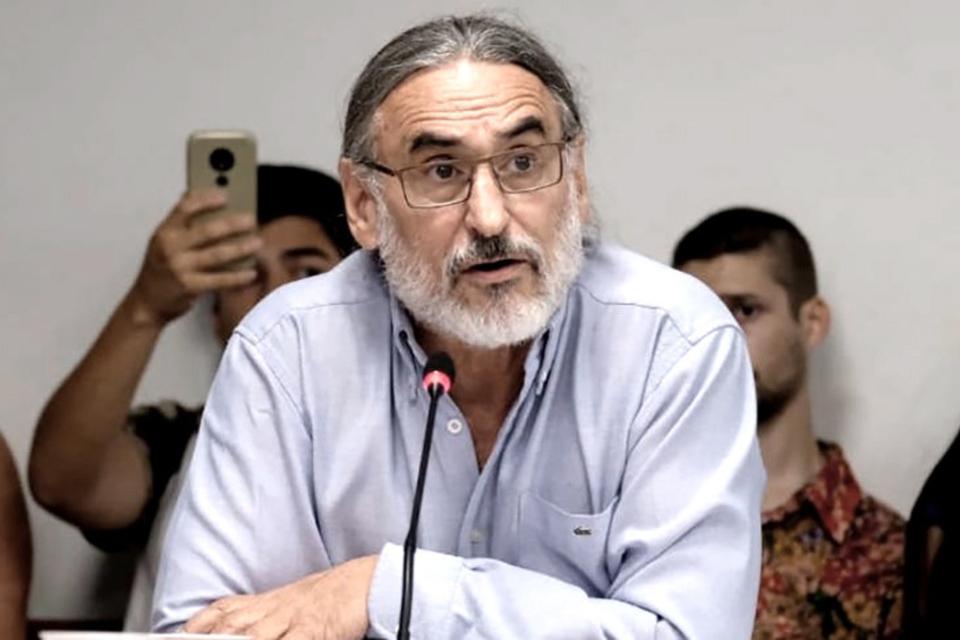 Luis Basterra, ministro de Agricultura de la Nación.
