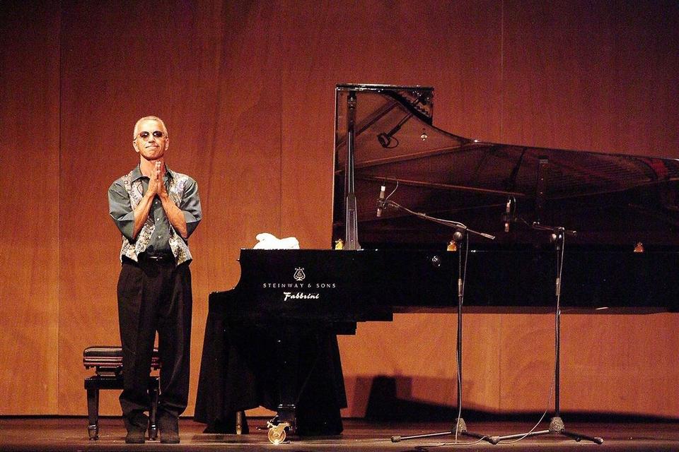 El gran pianista tiene 75 años y es un mito viviente del jazz.