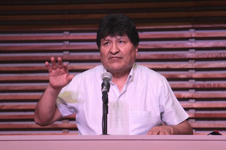 El depuesto presidente de Bolivia Evo Morales anunció que denunciará alsecretario General de la Organización de Estados Americanos (OEA), Luis Almagro.